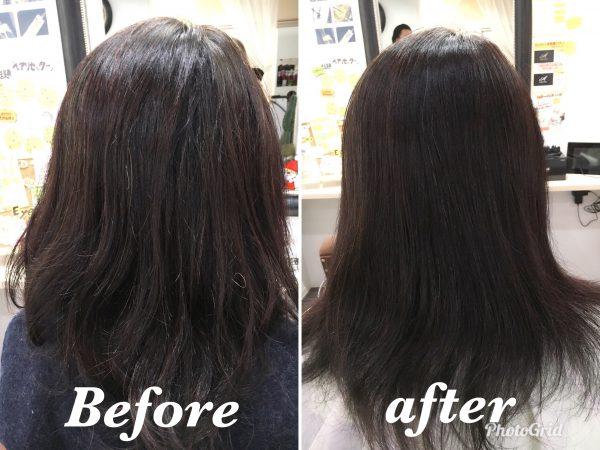クセで広がる髪の毛はヘアリセッターでサラサラ まとまりが良くなります