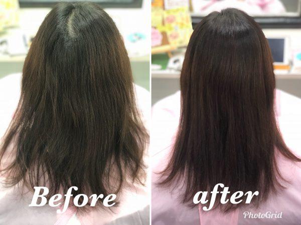 つむじの割れが解消 治る ヘアリセッター 髪質改善カット